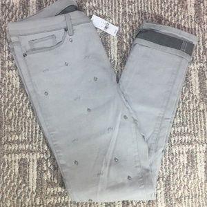 👖 NY&C Skinny Jeans with Rhinestones 👖
